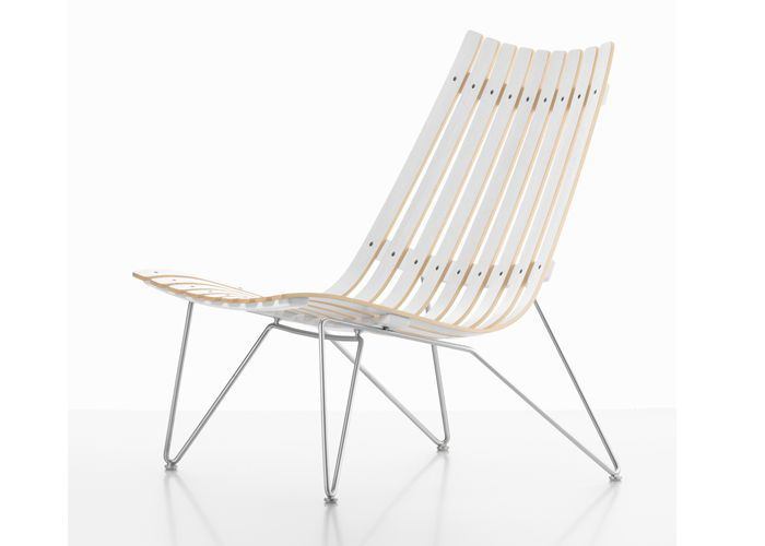 SCANDIA NETT Lounge chair door Hans Brattrud