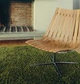 SCANDIA NETT SWIVEL lounge stoel van Hans Brattrud
