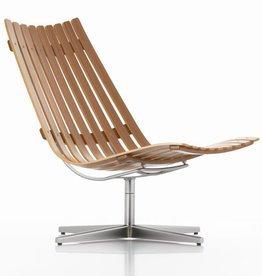 BRATTRUD SCANDIA NETT SWIVEL LOUNGE CHAIR