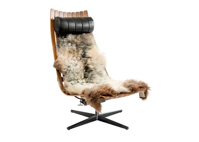 SCANDIA SENIOR VIPP Lounge chair by Hans Brattrud