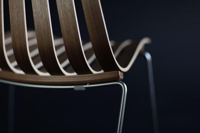 SCANDIA PRINCE eetkamerstoel door Hans Brattrud