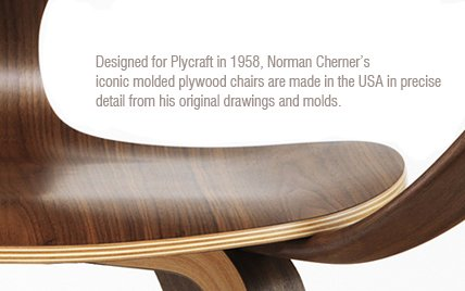 Armchair door Norman Cherner