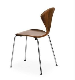 CHERNER STAPELBARE 'SIDE CHAIR' MET METALE BASIS