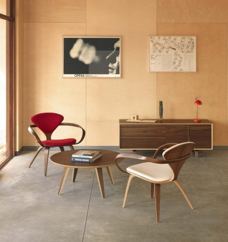 CHERNER LOUNGE STOEL with arms