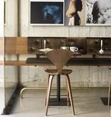 CHERNER BAR STOOL with wood base