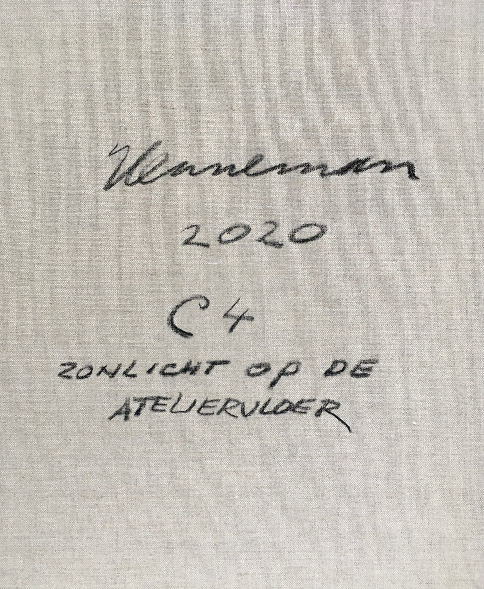 J. HENNEMAN | ZONLICHT OP DE ATELIERVLOER, 2020