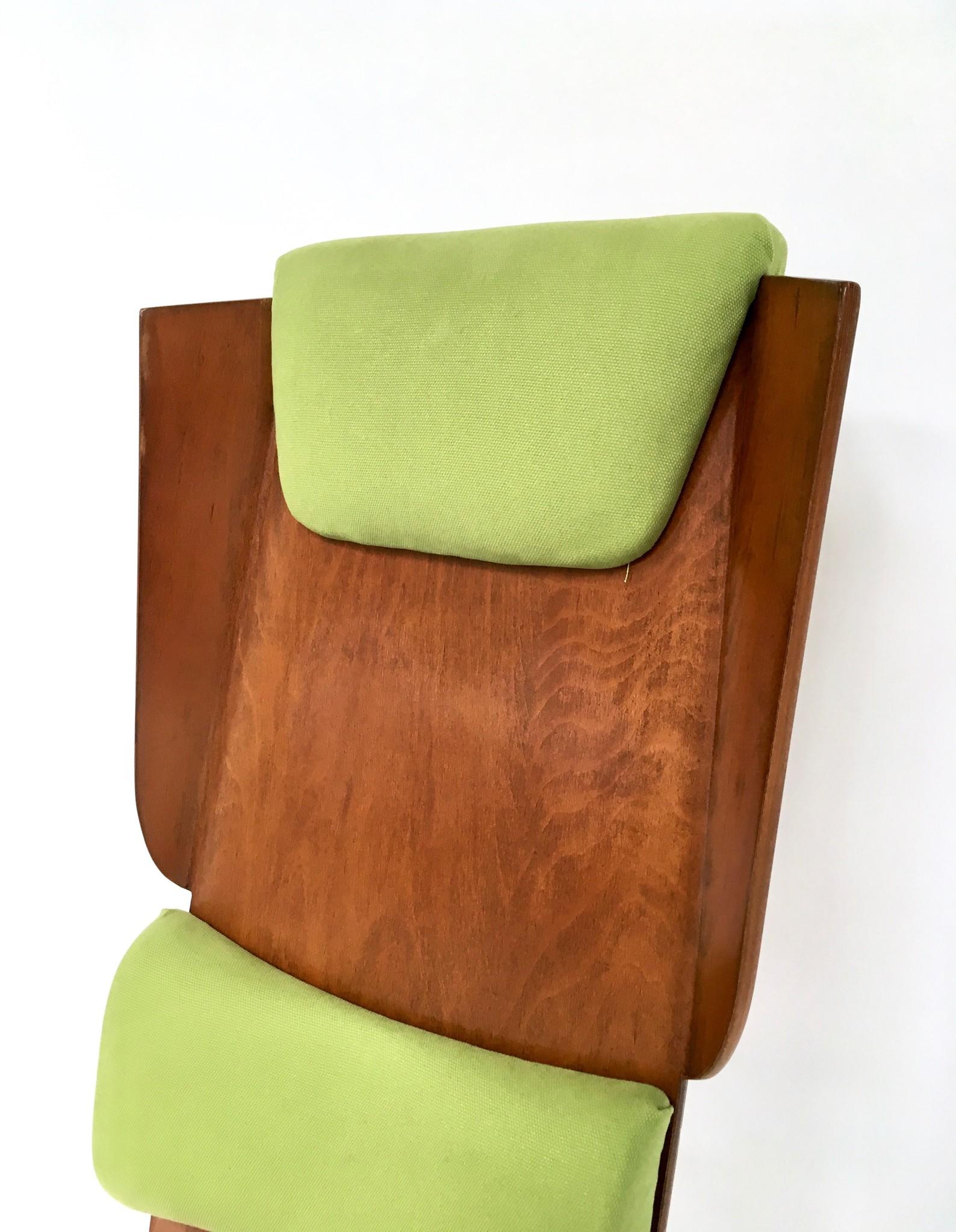 Fratelli Pozzi swivel chair