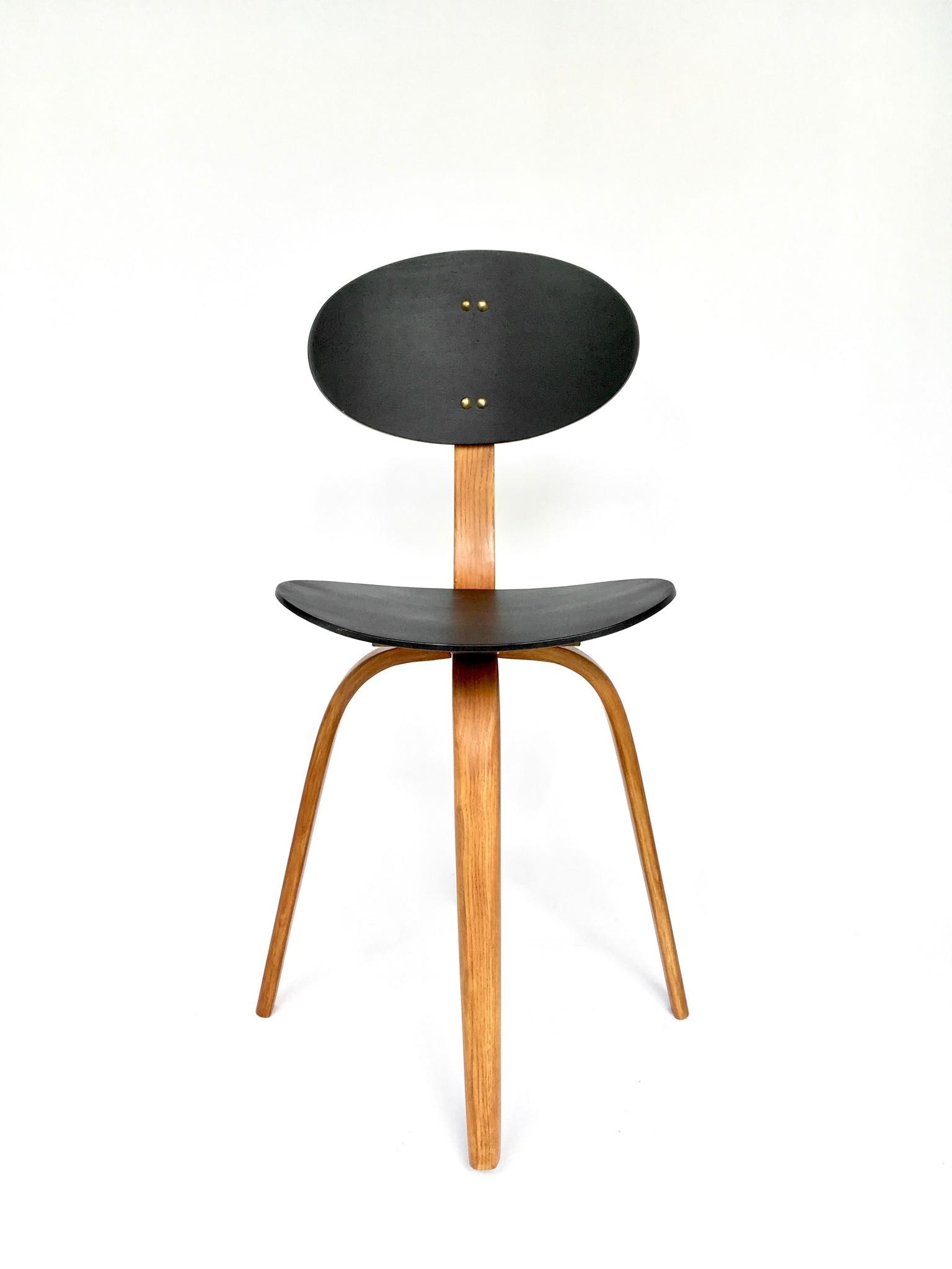 Hugues Steiner 'Bow-Wood' chair