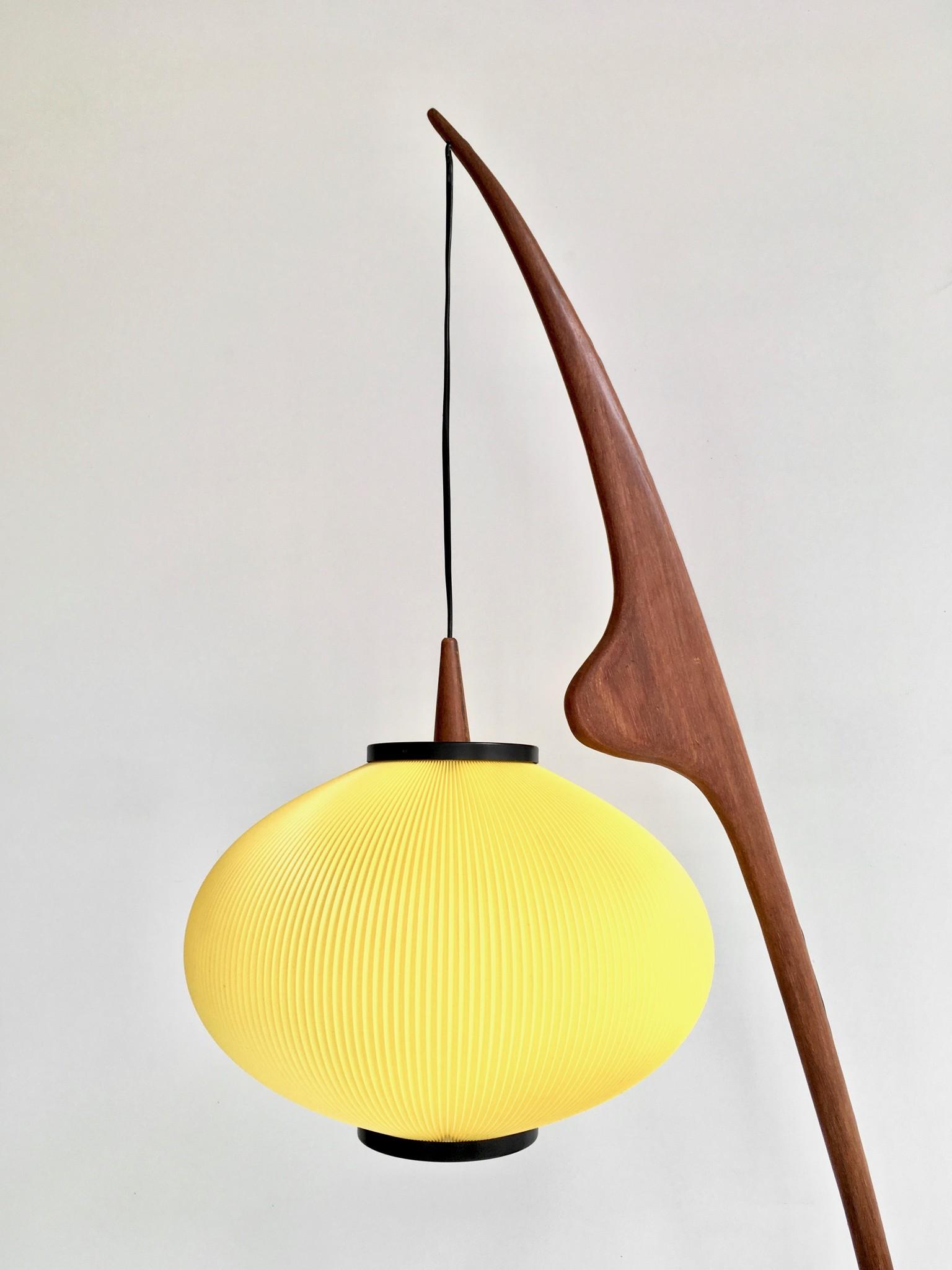 Praying Mantis Floor Lamp by Rispal