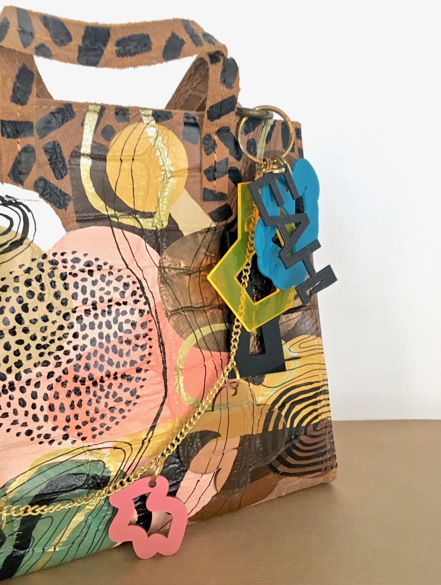 EAH! | ABSTRACT ART BAG, 2021
