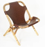 Vintage Bamboe stoel