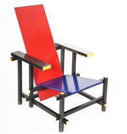 Rietveld rood / blauwe stoel