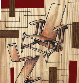 EAH! WOODDRAWING ode to RIETVELD 1
