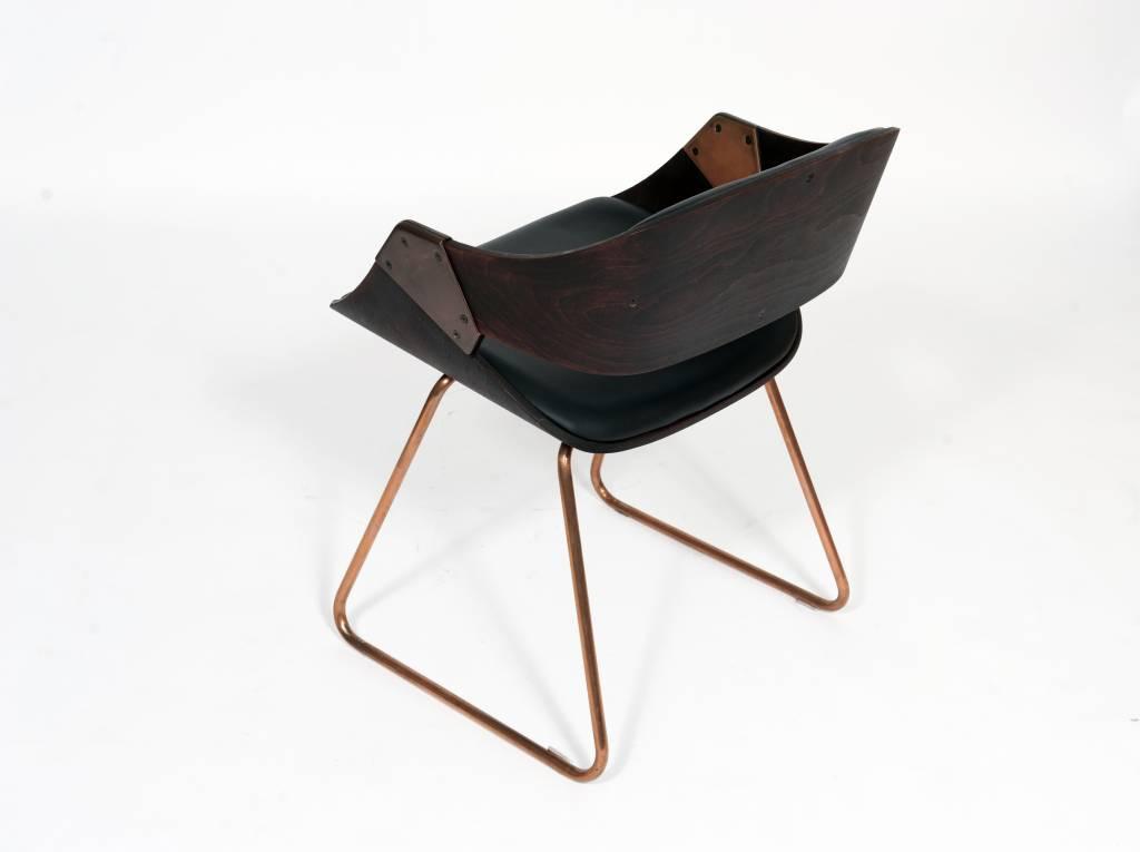 Vintage Plywood Rudi Verelst Diner Chairs