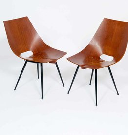 Vintage Plywood Nobili Vintage Chairs