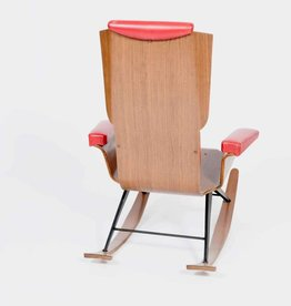 Vintage Plywood Vintage Rocking Chair