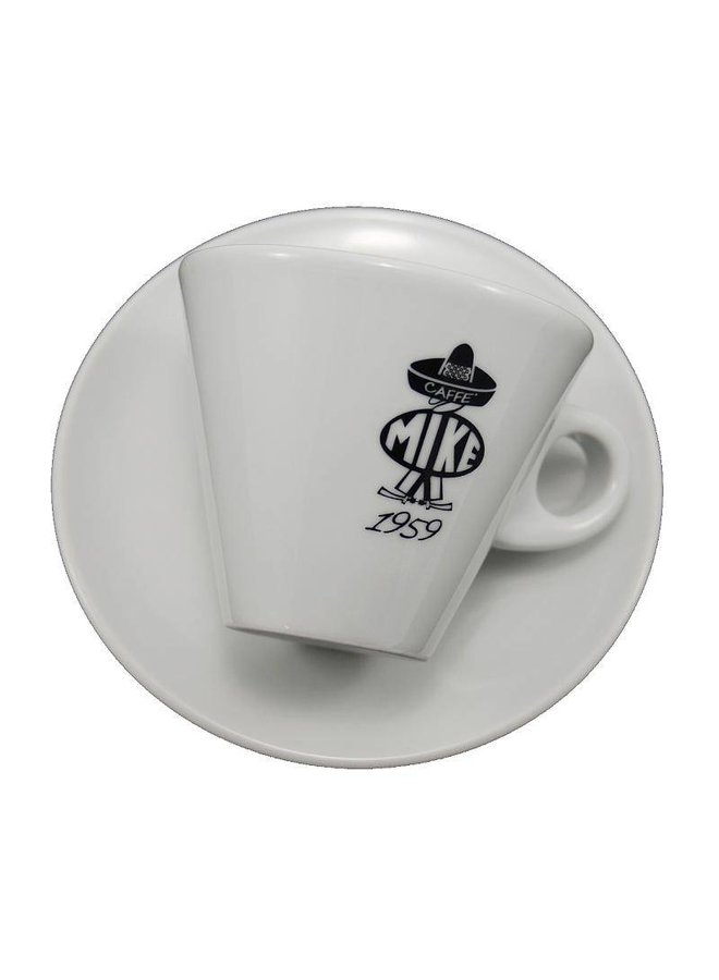 B/W - Cappuccino cup