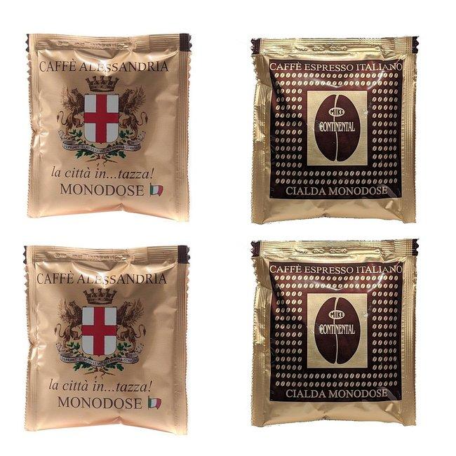 Caffè Mike Alessandria & Continental | 150 stuks