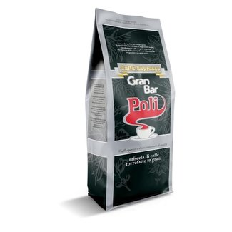 Caffè Poli Elite Gran Bar coffee beans, 1kg