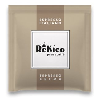 Rekico Caffè Crema Espresso ESE Servings, 100 pieces