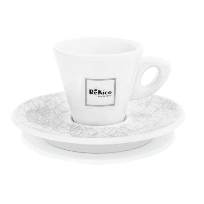 Rekico Caffè 6x Rekico - Espresso Kopjes + Schotel