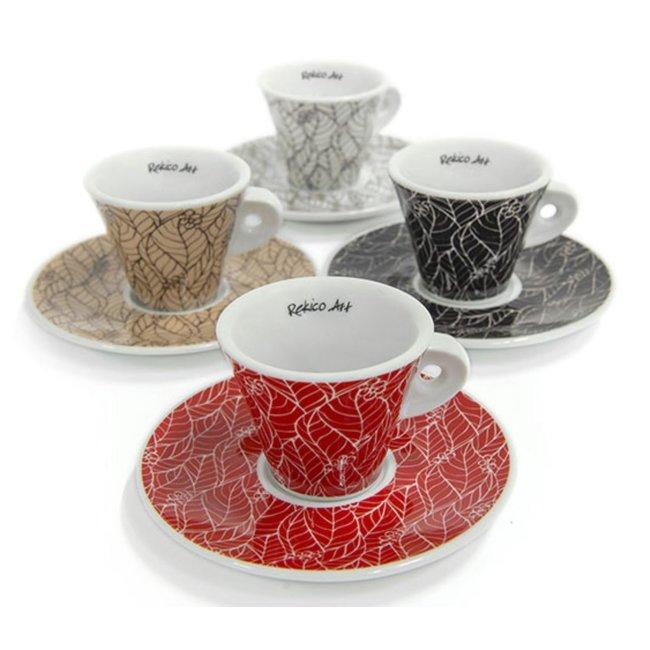 Rekico Caffè 4x Rekico Art Cup (Cup & Saucer)