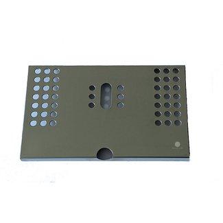 Spinel Lekrooster RVS 168x105