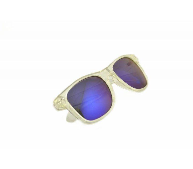 6ac9e7c7ff4282 Spiegel Zonnebril met Blauwe Spiegelglazen - Edge Limited Edition ...
