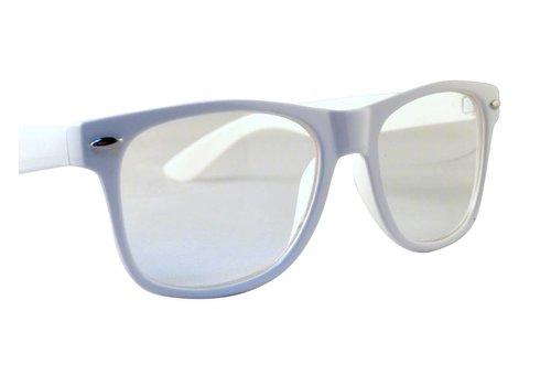 BK Witte Bril - White Trash