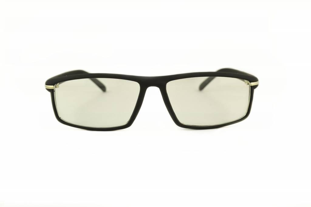 8e088bd08a6d14 Zwarte Sportieve Bril - Retro Sport Luxe koop je bij Brillenkampioen ...
