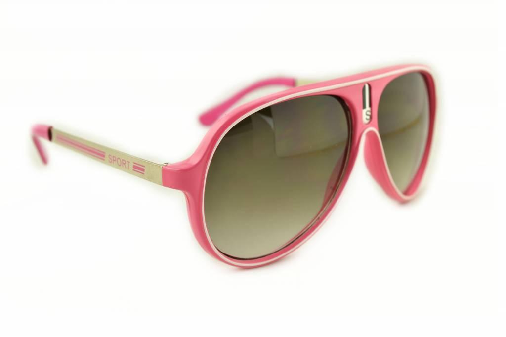 4341fa1f18eccd Roze Zonnebril - Color Line koop je bij Brillenkampioen ...