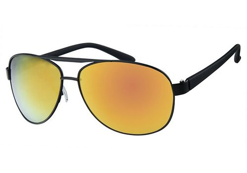 BK Classic Aviator - Sharp Gold Mirror