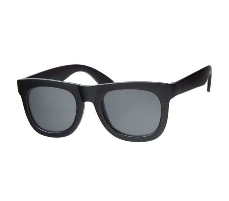 KINGS BLACK - CLASSIC BLACK WAYFARER SUNGLASSES