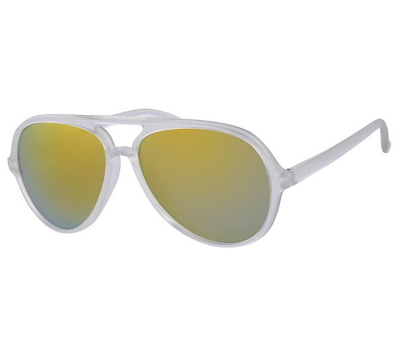 EASY - RETRO FROSTED SUMMER STYLE PILOTENZONNEBRIL SPIEGEL