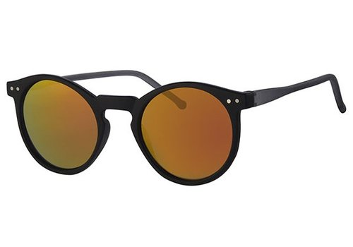 BK ROUND RETRO REVO MIRROR SUNGLASSES FLASH CLASSIC