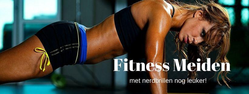 Instagram Hit - Fitness Meiden Met Een Nerdbril