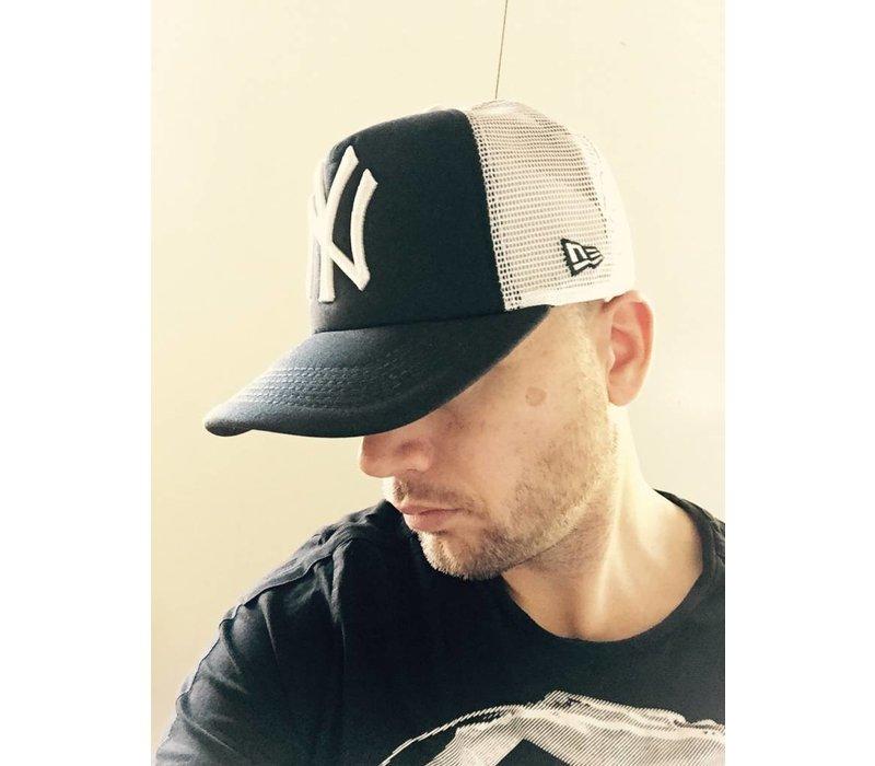 SNAPBACK CAP NY WIT/BLAUW