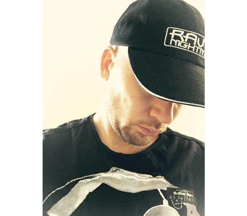 EXCLUSIVE CAP RAVING NIGHTMARE BLACK/WHITE