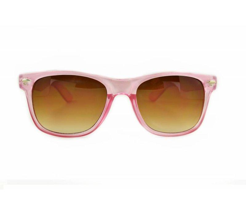 Roze Zonnebril - Retro Way Nude