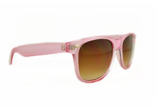 BK Roze Zonnebril - Retro Way Nude