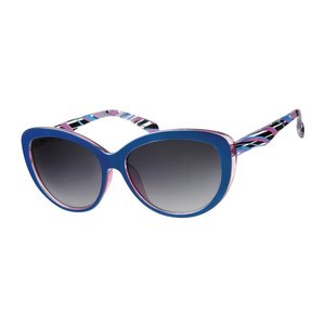 BK DAMES ZONNEBRIL RETRO CAT EYE - BLUE BAY
