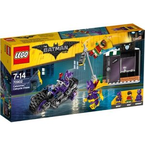 Lego Batman the Movie Catwoman Catcycle Achtervolging 70902