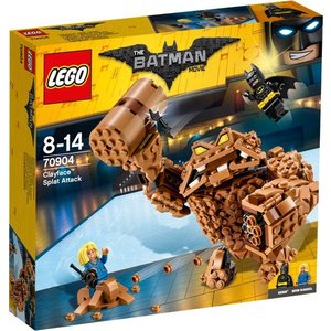 Lego Batman the Movie Clayface Verplettervuisten 70904