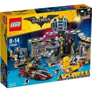 Lego Batman the Movie Batcave Inbraak 70909