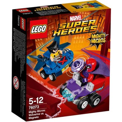 Lego Lego Super Heroes Wolverin vs Magneto 76073