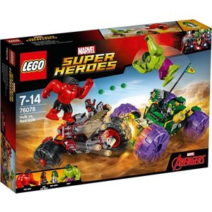 Lego Super Heroes Hulk vs Red Hulk 76078