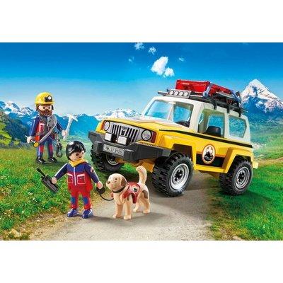 Playmobil Playmobil Action Reddingswerkers met Terreinwagen 9128