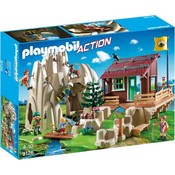 Playmobil Playmobil Action Bergbeklimmers met Berghut 9126