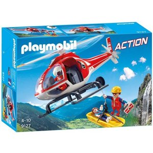 Playmobil Action Reddingswerkers met Helikopter 9127