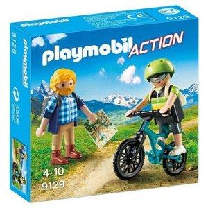 Playmobil Action Wandelaar en Mountainbiker 9129